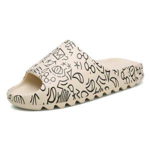 2021 Summer Slides Breathable Beach Sandals Flip Flops Mouth Men Women Cartoon