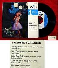 EP 4 große Schlager Jimmy Barber Thilo Peters Belinda & Thilo(Tip 63--1149) D