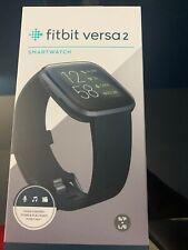BRAND NEW (UNOPENED) Fitbit Versa 2 Health & Fitness Smartwatch (FB507BKBK)
