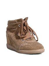 ISABEL MARANT Suede Bobby Wedge Sneakers