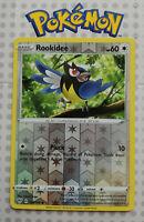 Pokemon card Rookidee 154/189 HOLO Basic Common Colourless Mint Darkness Ablaze