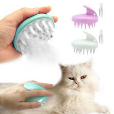 Pet Grooming Brush Massage Hair Fur Silicone Hair Removal Tool For Cats Dogs