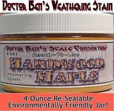 Hardwood Maple Weathering Stain-4oz Doctor Ben's Scale Consortium On30/HOn3