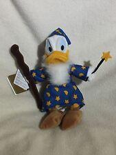 Disney Soft Toy Beanie. Merlin Wizard Donald Duck 9 Inch