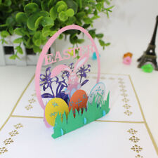 GT- Handmade 3D Pop-up Easter Rabbit Greeting Card Postcard Holiday Souvenir Pro