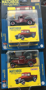 NEW 2021 MATCHBOX COLLECTORS 1932 FORD PICKUP LOTS OF 2