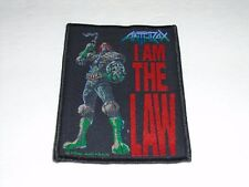 ANTHRAX I AM THE LAW WOVEN PATCH