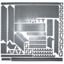 Lego Technic-Piedra Gris Oscuro studless vigas Bloques Ladrillos - 413 Piezas-Nuevo