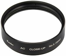 Kenko 55mm AC Close-Up Achromatic Lens Filter No.5 - 2 Elements - Made In Japan