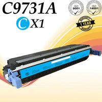 1 PK C9731A Cyan Color Toner  For HP LaserJet 5500 5500DTN 5500DN 5550N printer