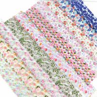 Foil Flower Art Decor Stickers Nail Holographic Transfer Manicure Decals