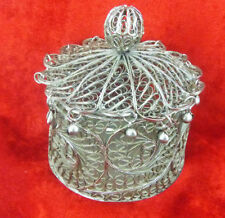 Silver Antique Asian Boxes