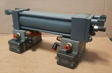 Miller Fluid Power 310 Hydraulic Cylinder 6 Stroke With 2 Air Valves S8a
