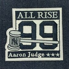 NEW YORK YANKEES AARON JUDGE ALL RISE 99 JERSEY PATCH IRON ON