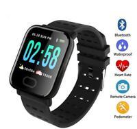 SmartWatch A6 fitnes tracker wristband,orologio intelligente resistent all'acqua
