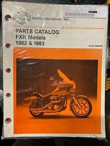 PARTS CATALOG FXR MODELS 1982 - 1983 HARLEY DAVIDSON 99439-83B