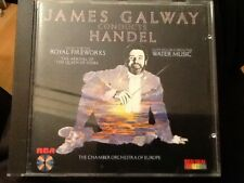 JAMES GALWAY CONDUCTS HANDEL  MUSIC FOR THE ROYAL FIREWORKS . Japan pressed Rare