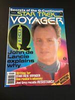 Vintage star trek voyager magazine April 1996 Back Issue