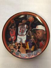 "Michael Jordan Plate ""1991 NBA Championship"" Upper Deck Bradford Exchange Lim Ed"