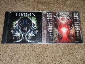 Origin Technical Death Metal CD Lot Relapse Records Antithesis Informis