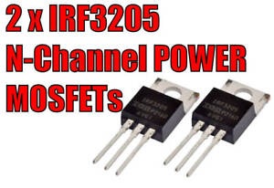 IRF3205 x 2 PIECES. N-Channel MOSFET 55V 110A  Induction. Inverter.  Power Audio