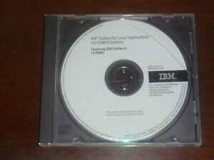 IBM AIX Toolbox for Linux Applications for Power Systems GNU Software CD 4/2008