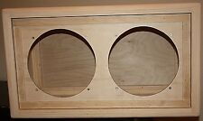 rawcab Boogie rectro style  2x12 empty rear load close back pine speaker cabinet