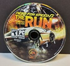 Need for Speed: The Run -- Limited Edition (PC, 2011) DISCS ONLY