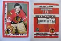 2015 SCA Michel Dumas Chicago Blackhawks goalie never issued produced #d/10