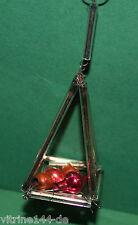 Alter Christbaumschmuck Weihnachtsschmuck GABLONZ Ornament m Kugeln um 1920 CBS