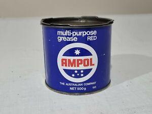 Ampol Southern Cross Logo Multi-Purpose Red Grease 500g Tin