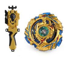 Beyblade Burst Gold B-79 Drain Fafnir.8.Nt + B-88 Launcher + B-40 Grip Set Gift