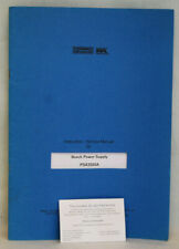 Farnell PSA3505A Bench Power Supply Instruction/Service Manual