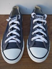 CONVERSE ALL STAR YOUTHS, BLUE/WHITE SHOES TRAINERS SIZE UK2 EU34 #WORN TWICE#