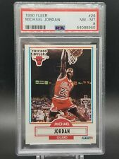 1990 Fleer Michael Jordan #26  ⭐⭐PSA 8 Near Mint ⭐⭐ New Holder