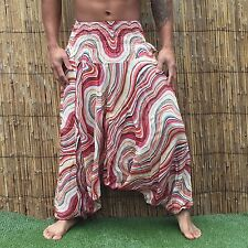 Boho Beach Festival Hippy hippie Baggy yoga Harem Pants Trousers Jumpsuit Floral