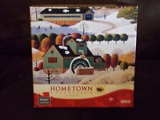 """Hometown Collection 1000 Piece Jigsaw Puzzle, """"Winter In Vermont"""""""