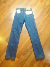 NOS Women Unisex Made in USA, 1984 Levi's 501preshrunk Raw Denim, 26 x 30