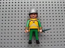 Playmobil personas-castillo soldado oficial-Casco, corta espada, cabello y barba