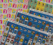 American Lung  Association Christmas Seals 7 Full Sheets 1968, 70 and 71
