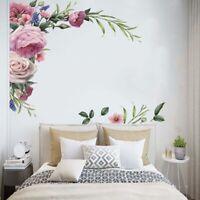 Pfingstrose Blume Zweig Kunst Wandaufkleber Schlafzimmer Hintergrund Aufkleber