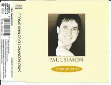 PAUL SIMON - Proof CD SINGLE 3TR Germany 1991 (WARNER)