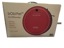 bObi Pet Robotic 5 in 1 Cleaning System Cordless Vacuum Cleaner NEW Scarlet Red