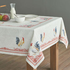 Maison d' Hermine Campagne Rooster 100% Cotton Tablecloth 60 inch x 108 inch