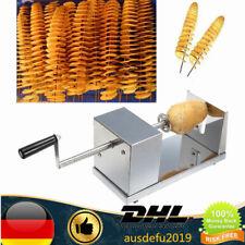Edelstahl Twister Kartoffel Gemüse Tornado Spiralschneider Kartoffelschneider DE