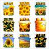 3D Sunshine Sunflower Flowers Comforter/Quilt/Doona Cover Bedding Set Pillowcase