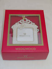 New Wedgwood 1ST Our First ChristmasTogether Tree Ornament 2004 Picture Frame