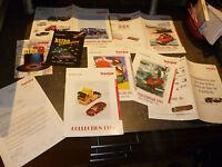 Dossier promotionnel des Miniatures Herpa , Feuillet et Catalogue 1995