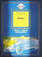 VOLKSWAGEN 1500 e 1600 Colin Pitt LIBRO AUTO