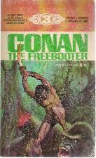 CONAN THE FREEBOOTER by Robert E Howard & L Sprague deCamp (1968) Lancer pb